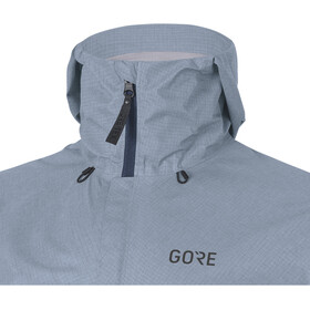GORE WEAR M's H5 Gore-Tex Active Hooded Jacket Deep Water Blue/Cloudy Blue